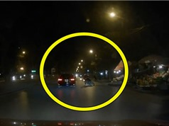 Clip: Chó chạy rông gây tai nạn kinh hoàng cho người đi xe máy
