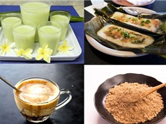 Món ngon trong tuần: Cà phê trứng, bánh nậm Huế, tương bần, sữa đậu xanh