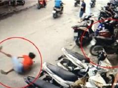 Clip: Nam thanh niên phóng xe tông thẳng vào tiệm vàng