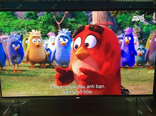VTC phát thử nghiệm truyền hình 4K tại Việt Nam