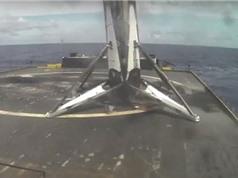 Tên lửa Falcon 9 lần thứ hai đáp thành công xuống tàu trên biển