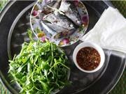"""""""Xuýt xoa"""" với món cá ngừ cuốn rau muống"""