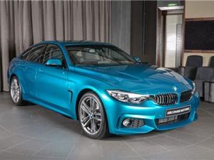 BMW 420i Gran Coupe hút ánh nhìn với màu xanh mới