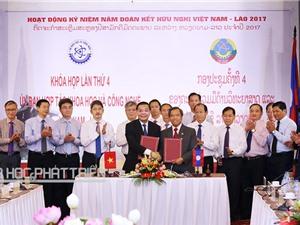 Khai mạc khóa họp lần thứ 4 Ủy ban Hợp tác KH&CN Việt Nam - Lào