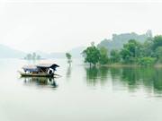 Chiêm ngưỡng vẻ đẹp của hồ nước nhân tạo đẹp bậc nhất tại xứ chè
