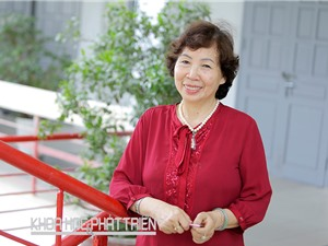 """Giáo sư - tiến sỹ khoa học Đặng Thị Kim Chi: Mang chữ """"tình"""" vào nghiên cứu môi trường"""