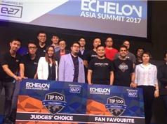 Đại diện của Việt Nam đoạt giải tại Echelon Asia 2017