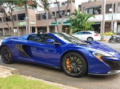 Cường Đô La sử dụng siêu xe McLaren 650S của Minh Nhựa