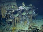 Cận cảnh tàu đắm thời Thế chiến thứ 2 được phát hiện sau 77 năm