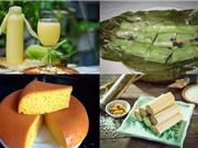 Món ngon trong tuần: Bánh răng bừa, sữa đậu đỏ, cơm lam, bánh bông lan