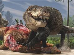 Cá sấu kỷ Jura răng nhọn như khủng long bạo chúa
