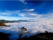 """""""Lạc trôi"""" vào điểm """"săn"""" mây đẹp bậc nhất Việt Nam"""