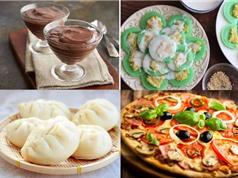 Món ngon trong tuần: Bánh bao, sữa hạt sen, bánh pizza, sủi cảo, bánh pudding socola