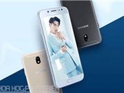 Cận cảnh smartphone selfie của Samsung vừa lên kệ tại Việt Nam