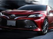 Toyota Camry Hybrid 2018 ra mắt thị trường Nhật Bản, tiêu thụ 33,4 km/lít