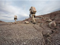 Mô phỏng môi trường sao Hỏa trên sa mạc đá