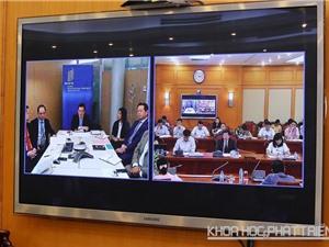Bộ Khoa học và Công nghệ kết nối trực tuyến với WIPO về đổi mới sáng tạo