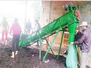 Sản xuất phân hữu cơ vi sinh từ vỏ cà phê