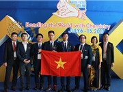 Việt Nam đoạt 3 huy chương vàng Olympic Hóa học quốc tế