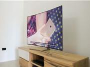 Cận cảnh QLED TV màn hình cong giá 70 triệu đồng tại Việt Nam