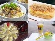 Món ngon trong tuần: Bánh mì phô mai, bánh màn thầu bắp ngọt, bột chiên, bún bò Nam Bộ