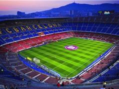 10 sân vận động lớn nhất châu Âu