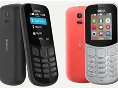 """Nokia ra mắt 2 điện thoại """"cục gạch"""" pin trâu, giá dưới 500.000 đồng"""