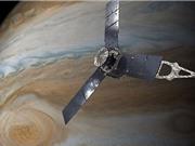 Tàu NASA bay qua siêu bão rộng 16.000 km trên sao Mộc