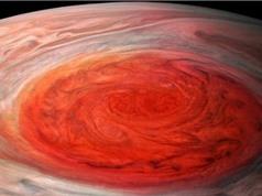 NASA công bố ảnh siêu bão Vết đỏ lớn trên sao Mộc