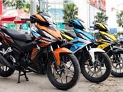 Người Việt tiêu thụ hơn 1,5 triệu xe máy trong nửa đầu 2017