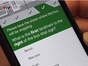Giúp người khiếm thị tìm bến đỗ xe bus qua ứng dụng