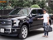 Cận cảnh xe bán tải Ford F150 Limited bạc tỷ của Quách Ngọc Ngoan