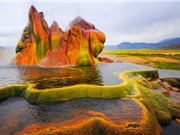 Choáng ngợp trước 10 kỳ quan thiên nhiên nhiều màu sắc nhất thế giới