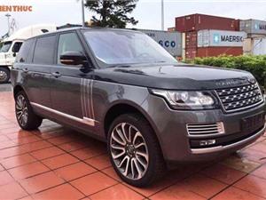 Chiêm ngưỡng Range Rover SVAutobiography Hybrid tiền tỷ đầu tiên về VN
