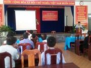Đà Nẵng: Tập huấn xử lý bệnh hại trên nấm sò và nấm Linh chi