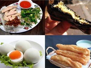 Món ngon trong tuần: Bánh gai, lẩu hải sản, chè lam, bánh cuốn