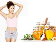 Giảm cân dễ dàng hơn với 3 công thức từ mật ong