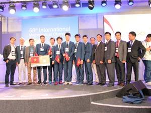Lần đầu tiên Việt Nam xuất sắc giành 4 huy chương vàng tại kỳ Olympic Toán quốc tế