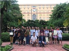 Đoàn học sinh Việt Nam sang Israel học hỏi về công nghệ robot