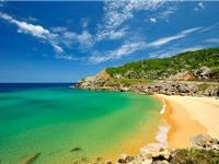 """""""Ghé thăm"""" bãi biển """"hot"""" bậc nhất Nam Trung Bộ"""
