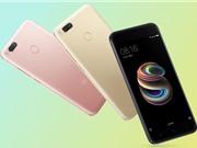 Xiaomi Mi 5X trình làng: Chip Snapdragon 625, camera kép, giá 4,99 triệu