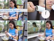 Máy khử trùng đũa ăn bỏ túi đầu tiên trên thế giới