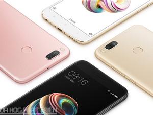 Cận cảnh vẻ đẹp của Xiaomi Mi 5X