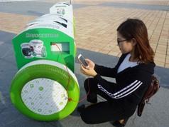 Đà Nẵng: Lắp đặt 50 thùng rác thông minh có chức năng sạc pin điện thoại