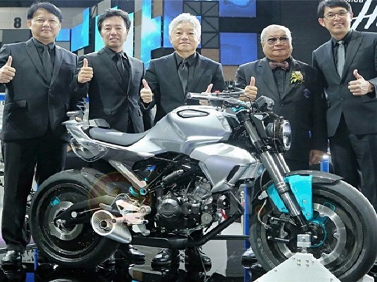 Honda hé lộ hình ảnh của mẫu mô tô 150 phân khối hoàn toàn mới