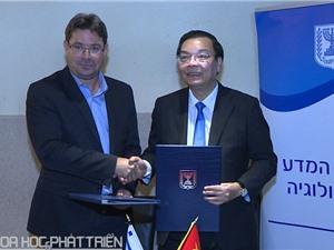 Việt Nam - Israel hợp tác trọng tâm về khoa học và công nghệ
