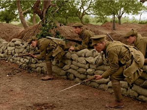 Loạt ảnh màu đáng kinh ngạc về Chiến tranh thế giới 1