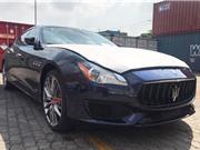 """Xế sang Maserati Quattroporte giá 11,8 tỷ """"nhập tịch"""" Hà Nội"""