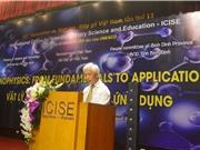 """Hội thảo khoa học quốc tế """"Vật lý Nano: Từ cơ bản đến ứng dụng"""""""