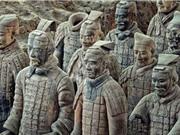 Đội quân đất nung trong lăng mộ Tần Thủy Hoàng